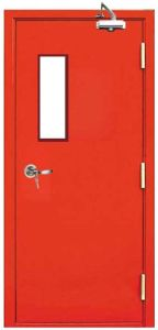 Steel Fire Rated Door with Vision Panel pictures & photos