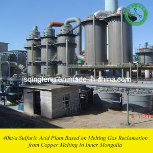 Jinjian 40kt/a Sulfuric Acid Plant Based on Melting Gas Reclamation (QF-SAC) pictures & photos