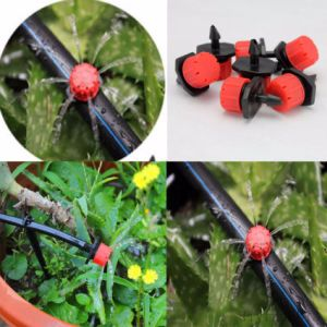 Cheap Adjustable Threaded Dripper Water Drip Irrigation pictures & photos
