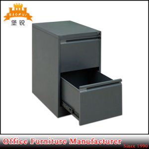 Vertical Small Packing Metal Kd Popular Cheap Steel Storage Two Drawer Cabinet pictures & photos