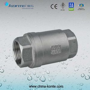H12W Stainless Steel Vertical Type Check Valve pictures & photos