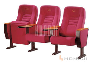 China Red Fabric Pubilc Seating Series Bank Waiting Chair pictures & photos