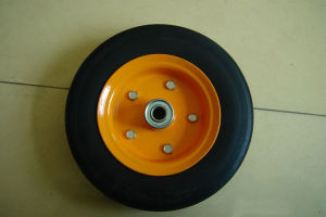 Trolley Cart Solid Rubber Wheel 8X2 pictures & photos