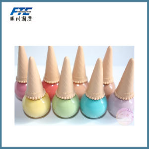 Ice Cream Shape Nail Polish Bottle Empty Glass Bottle pictures & photos