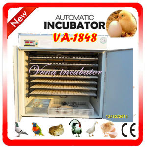 CE Approved Commercial Automatic Industrial Egg Incubator Hatcher pictures & photos