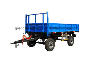 Trailer Farm Machinery Tractor Mounted Dumping Trailer 3ton to 10ton pictures & photos