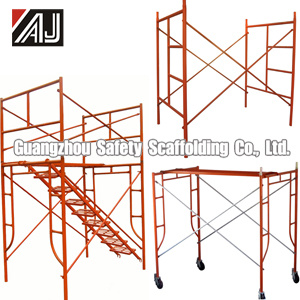 Steel Frame Scaffolding for Inside and Outside Building Construction, Guangzhou Factory pictures & photos