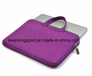 Full Color Printing Neoprene Laptop Bag with Handle pictures & photos