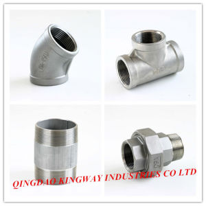 Stainless Steel Street Elbow 90. pictures & photos