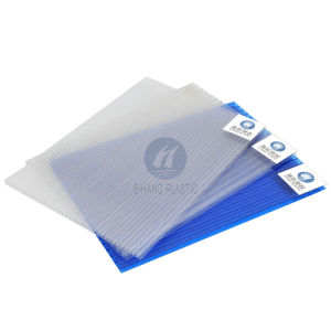 High Quality Polycarbonate PC Sheet Panel with UV for Carport pictures & photos