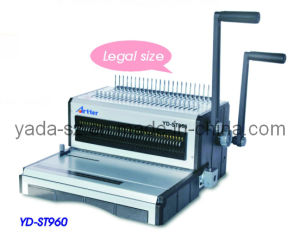 Comb + Wire (2 in 1) Binding Machine (YD-ST960) pictures & photos