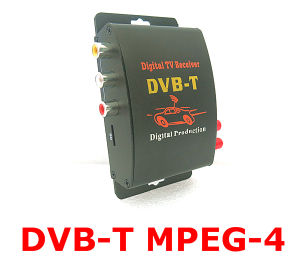 MPEG-4 Car DVB-T with Dual Tuners High Speed Mobile Digital TV Tuner Receiver