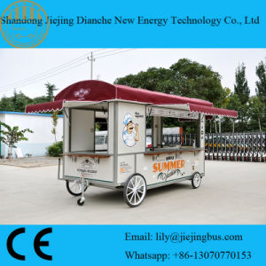 Soup/Fast Food Movable Vending Trailers pictures & photos