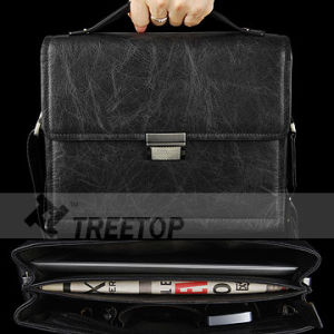 "for 10"" Tablets Genuine Leather Bag for Men (LAPUBABK89)"