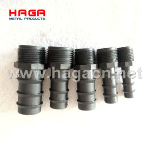 PP Plastic Male Thread Hose Tail Hydraulic Hex Nipple pictures & photos