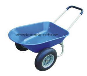 Double or Single Wheel Wheelbarrow with High Quality pictures & photos