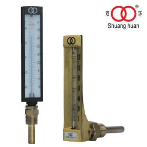 V-Shaped Industrial Glass Thermometer pictures & photos
