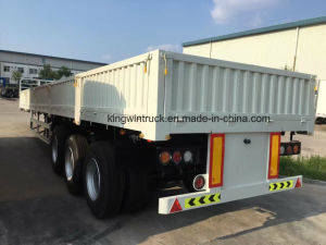China 60tons Sidewall Semi Trailer pictures & photos