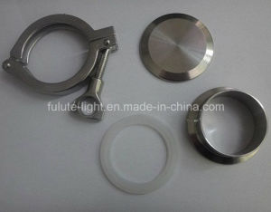 Clamp Stainless Steel Sanitary End Cap pictures & photos