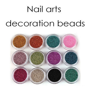 Hot Sale Nail Arts Colorful Beads Nail Decoration pictures & photos