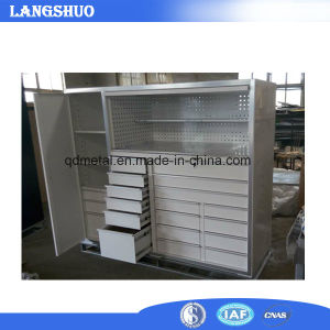 China Used Industrial Metal Storage Tool Trolley Cabinets / Garage ...
