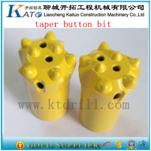 7 Buttons Tungsten Carbide Tip Rock Button Bit pictures & photos