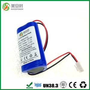 High Protection 3400mAh 11.1V Lithium Ion Battery