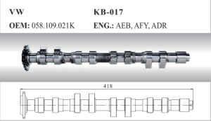 Auto Camshaft for VW (058.109.021K) pictures & photos