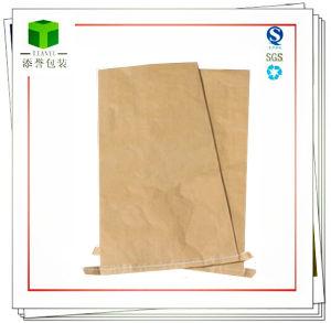 Plastic Material Seam Bottom Kraft Paper Bag pictures & photos