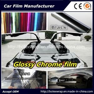 Glossy Chrome Vinyl Wrap Vinyl Film for Car Wrapping Car Wrap Vinyl pictures & photos