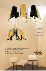New Mode Black and Gold Lampshade Pendant Lamp pictures & photos