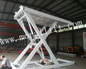 Stage Scissor Hydraulic Vehicle Lift Platform pictures & photos