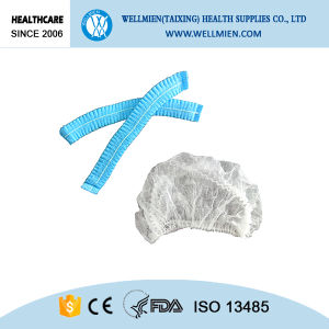Disposable Nonwoven Bouffant Cap Surgical PP Head Cover pictures & photos