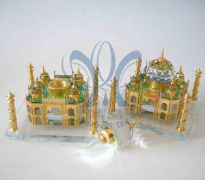 Taj Mahal (Crystal Perfume Bottle)