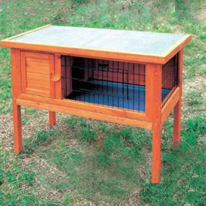 Wooden Rabbit House (5663-0171)