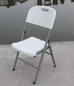Plastic Outdoor Blow Mould Folding Chair (SY-52Y) pictures & photos