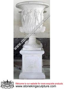 Marble Flowerpot & Stone Flowerpot, Marble Planter (SK-2205) pictures & photos