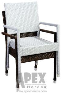 Garden Furniture Outdoor Furniture Bistro Chair Rattan Chair (AS1044AR) pictures & photos
