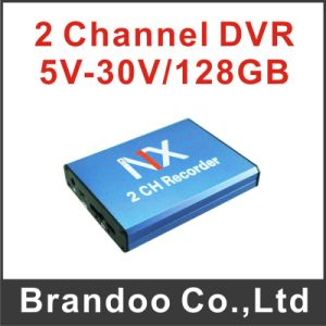 Nx Box-The Only 2 Channle Real Time Recording DVR Works with 128GB SD Card pictures & photos