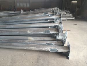 Electric Transmission Galvanized Steel Communication Tubular Pole pictures & photos