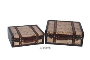 Wooden Jewellery Box (AC 09038)