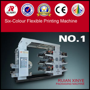 Ruian Xinye Six Colour Flexo Printing Machine pictures & photos