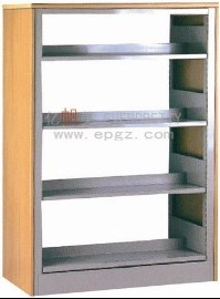 Modern MDF Steel School Library Wood Metal Bookshelf Design pictures & photos
