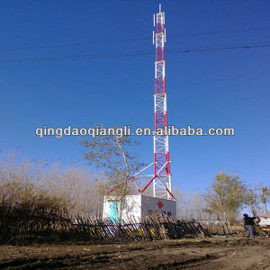 Tubular Telecommunication Tower (steel tower)