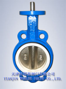 Wafer Type Butterfly Valve with CE (D7A1X-10/16) pictures & photos