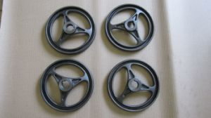 Customized Hand Wheel with Sand Casting Process pictures & photos