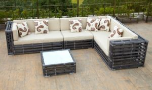 Modren Rattan Sofa Set Outdoor Furniture (CNS-1138)