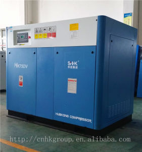 Variable Speed Screw Type Air Compressor 75kw 425cfm pictures & photos