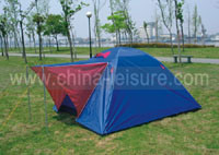 3-4 Persons Double Skin Camping Tent (Nug-T23)