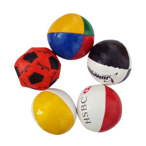 PVC Leather Custom Hacky Sacks Juggling Ball for Sales Promotion pictures & photos